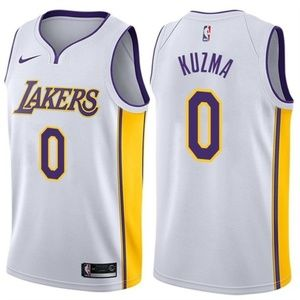 Los Angeles Lakers Kyle Kuzma White Jersey